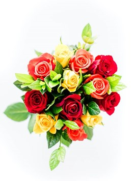 Bouquets: Mixed Roses