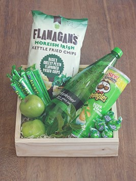 Snack & Gift Hampers: Green Fizz Gift Box