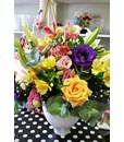 Vases & Containers: Colourful Arrangement in a Vase